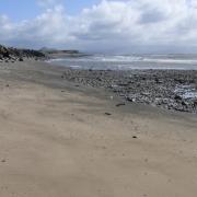 Afonwen Beach